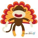 Turkey Sock /monkey